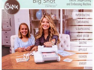 Sizzix Big Shot Express Die Cut and Embossing Electric Machine  Retail 158 99