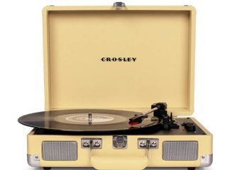 Crosley Radio Cruiser Deluxe Turntable  Size One Size   Yellow