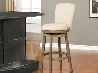 Powell Davis White Swivel Barstool  Retail 187 71