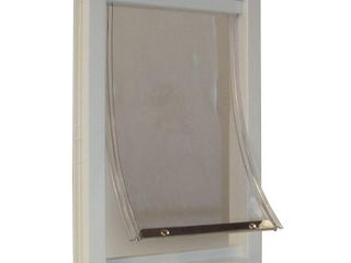 Ideal Pet Products PPDXl 12 1 2 X 18 9 16 Xl Thermoplastic Pet Door  Retail 108 49
