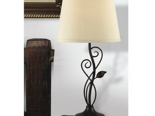 Copper Grove Corbeil Bronze 3 way 26 inch Table lamp