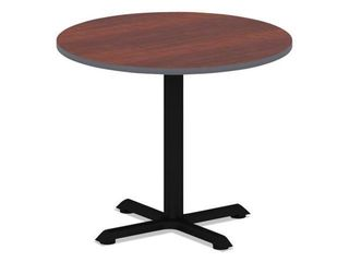 Top only Alera Reversible laminate Table Top  Round  35 5 dia  Retail 103 49