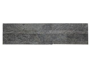 Aspect 6 x 24 inch Frosted Quartz Peel and Stick Stone Backsplash