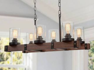 Carbon loft DeGarmo Farmhouse 5 light Pendant lighting for Kitchen Island  Retail 359 99
