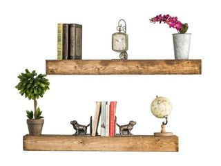 Artisan Haute Floating Shelves  Set of 2  Retail 79 48