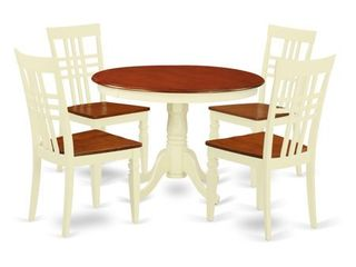 2 CHAIRS ONlY dinette chairs East West furniture