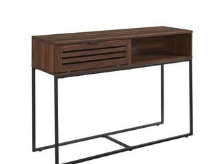 Strick   Bolton Hilla 42 inch Slat Door Entry Table  Retail 199 49