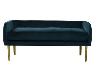 Silver Orchid Bevan low back Modern Bench  Retail 246 99