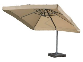 Outdoor Merida 9 8 foott Canopy Umbrella by Christopher Knight Home  Retail 496 99