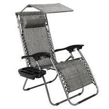 Zero Gravity Folding Patio lounge Beach Chairs w  Canopy Magazine Cup Holder Awning  Retail 87 99