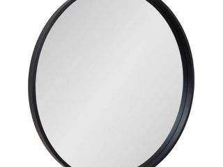 Kate and laurel Travis Round Wood Accent Wall Mirror  Retail 174 49