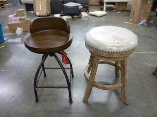Lot of 2 Counter Height Stools