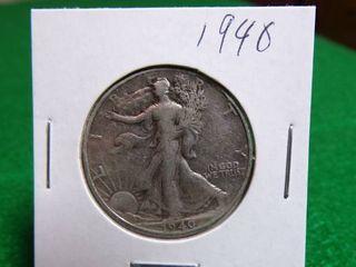 1940 WALKING LIBERTY HALF DOLLAR
