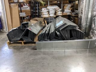 lot Of 1 2 Inch line Duct Work