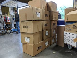 (14) Boxes of Model 611 8 Inch Roof Cap