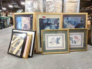 Assorted Framed Art Prints