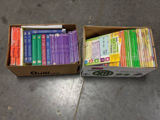 Assorted learning Books  And Workbooks