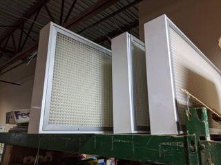 4  2 x 4 Ceiling HEPA Filters