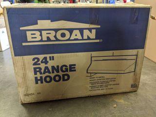 24 Inch Exhaust Range Hood