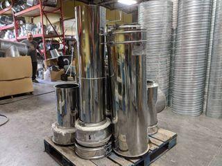 Stainless Steel Hood Vent Pipe