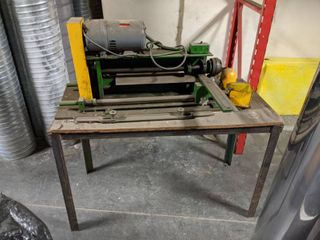 Slitter Machine Model 3354 And Table