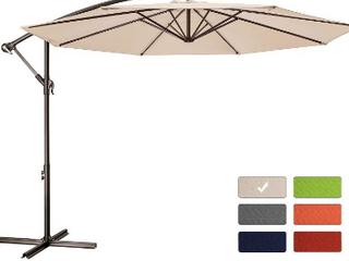 Bumble Outdoor Umbrella 10 Ft Offset umbrella