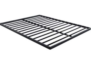 Twin Quick Lock Bunkie Board ( 38x74x1.6 inch). Black.