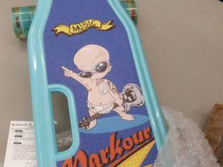 Jike Slide teal 23  skateboard