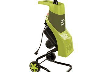 15 Amp Electric Wood Chipper   Shredder Sun Joe  Green