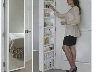 Cabidor deluxe mirrored behind the door