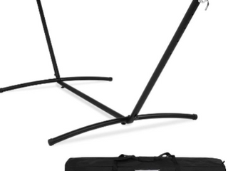 Space Saver Hammock Stand. (9ft x 2.7M). Black