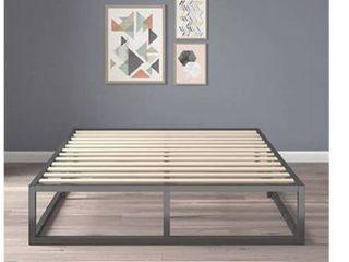 Zinus Joseph Modern Studio 10 Inch Platforma low Profile Bed Frame   Mattress