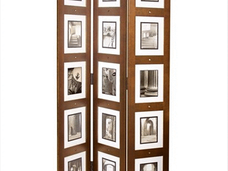 kieragrace Providence Photo 3 Panel Wood Room Divider