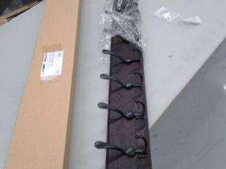 Skoloo Sl TH 3IN1 HB Black 10   Blackish 10 Hook Coat Rack