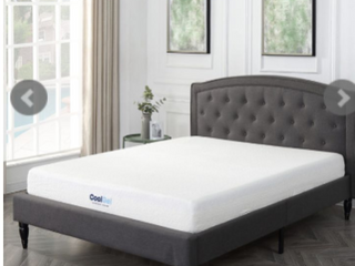 Classic Brands Cool Gel Ventilated Gel Memory foam 8 inch mattress    Full    White