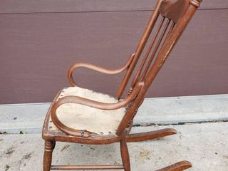 Antique Childrens Rocking Chair   All Original Conditon