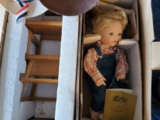 Georgetown Collection  Eric  by Joyce Reavey Porcelin Doll and Chair
