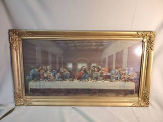 Gilded Wooden Frame last Supper