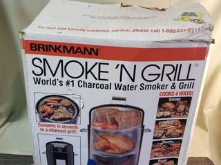 Brinkman Smoke N Grill  Disassembled