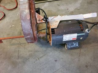 Dayton Start Motor with Fluid Management Attachment  Tested and Working