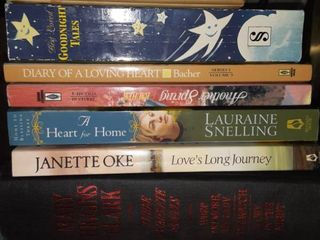 lot of Nine Books from Various Authors