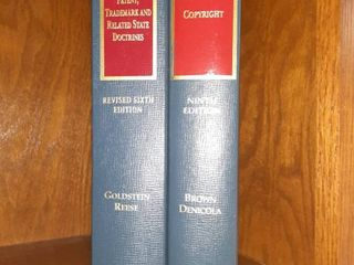 lot of Two Copyright Books by Foundation Press