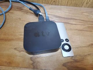 Apple Tv Box woth Remote  Tested and Working  Tv Not Included  With Hdmi Cord