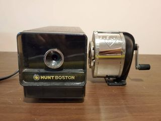 Electeic and Manual Boston Pencil Sharpeners