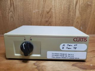 Curtis Data Switch Panel Box