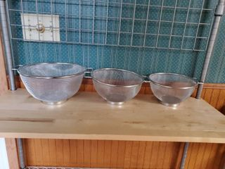 Set of 3 Strainers