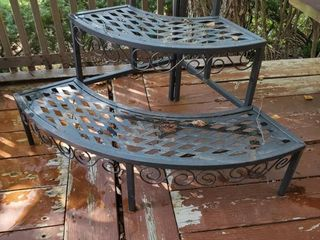 3 Tier Iron Plant Stand