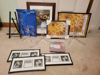 lot of Photo Frames and Stands