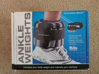 5lb Adjustable Ankle Weights