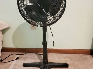 Black Holmes Ovulating Free Standing Fan